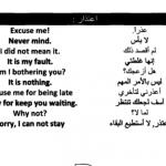 الاعتذار في اللغة الانجليزية Apology in English