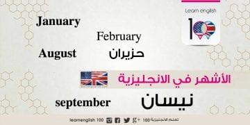 months-english-arabic-in-order-their-abbreviations الاشهر بالانجليزي والعربي بالترتيب واختصاراتها