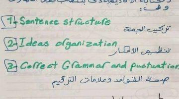 ًمهارات الكتابة في الانجليزية Writing Skills