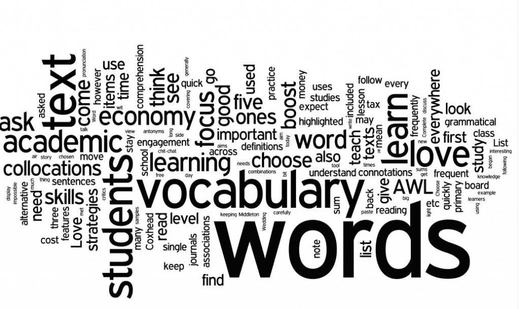 قُم بتوسيع قاعدة المفردات الُّلغوية