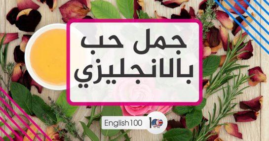 جمل حب بالانجليزي