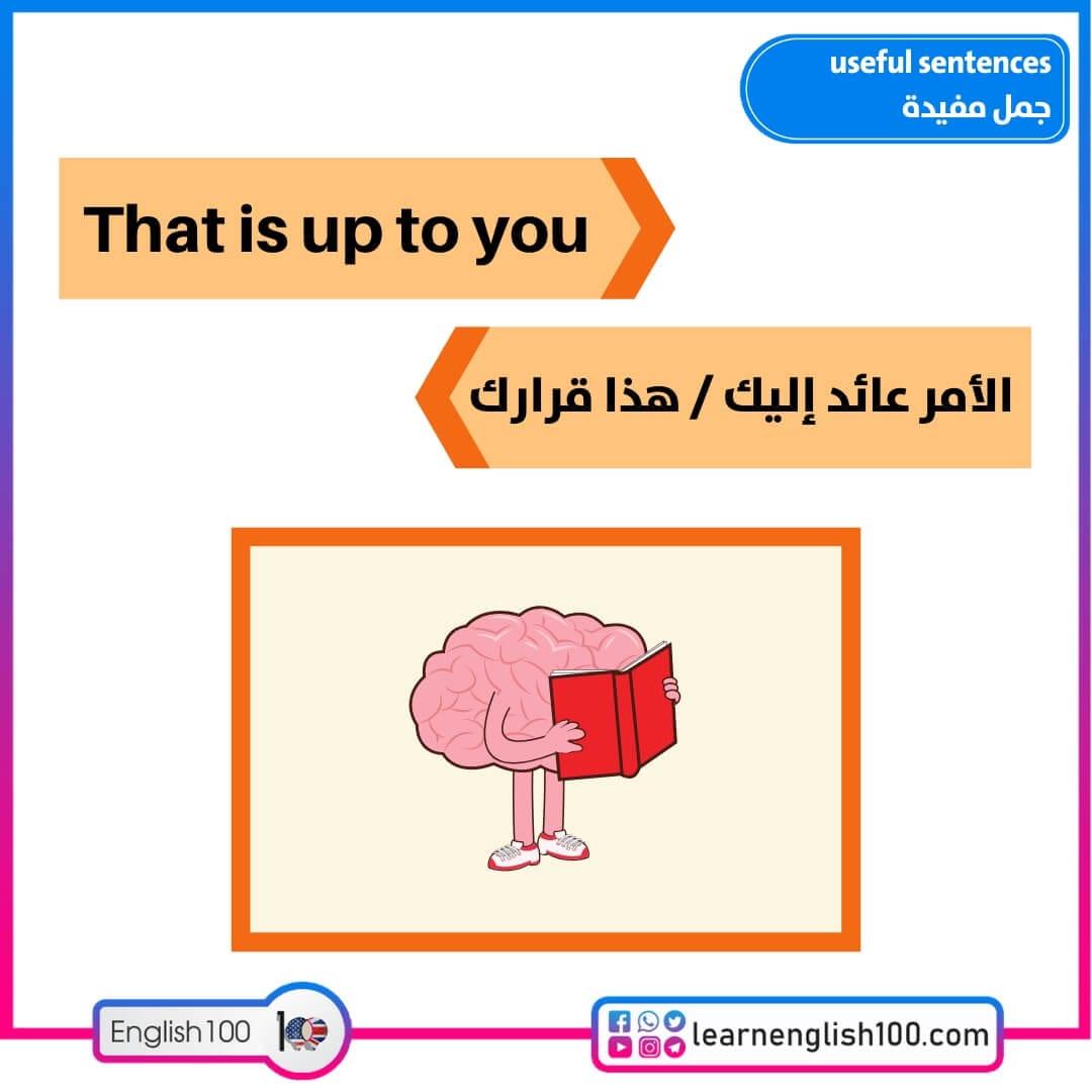 جمل مفيدة