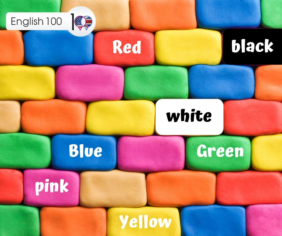 اسماء الالوان بالانجليزي Names of colors in English