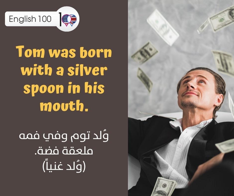 مصطلح يحوي كلمة فضي بالانجليزي An idiom of silver in English