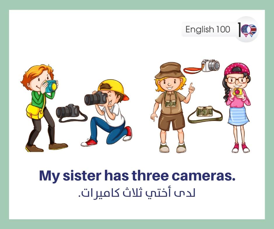 رقم 3 ثلاثة بالانجليزي Number Three in English