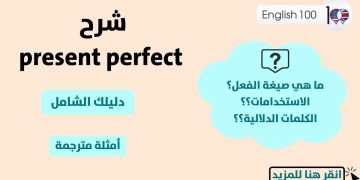 Present Perfect Explanation with examples
