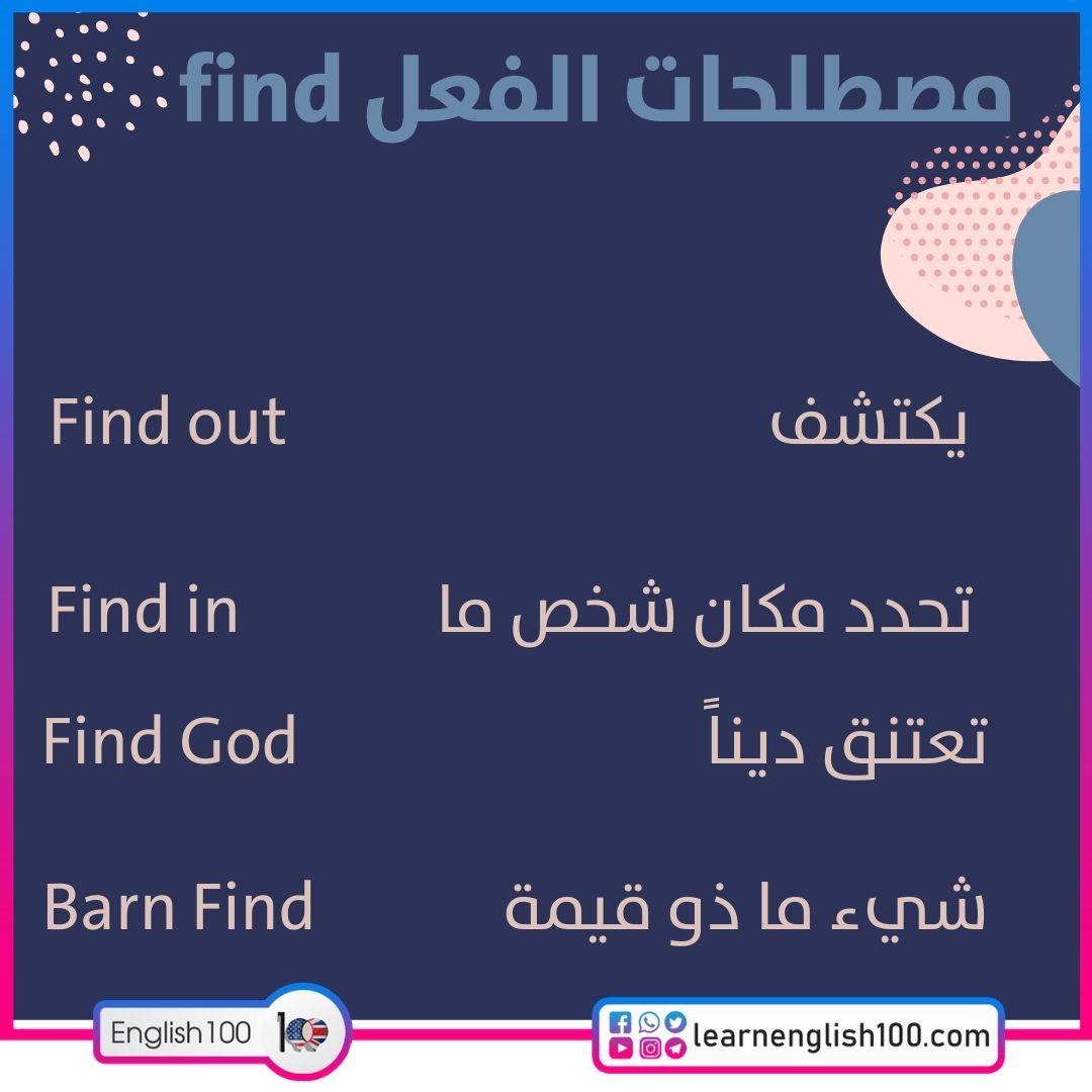 مصطلحات الفعل find find-idioms-phrasal-verbs