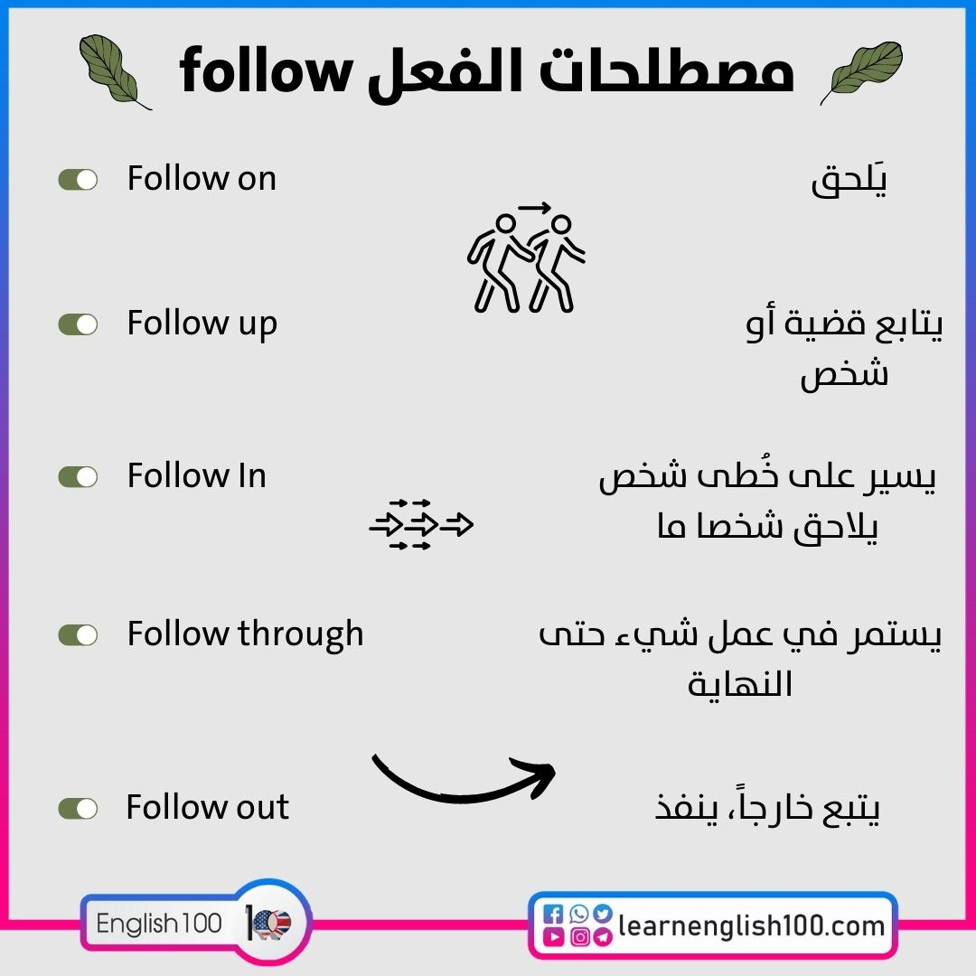 مصطلحات الفعل follow follow-idioms-phrasal-verbs