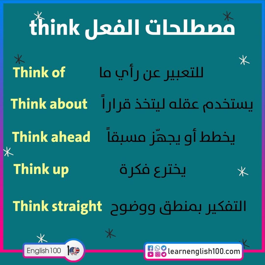 مصطلحات الفعل think think-idioms-phrasal-verbs