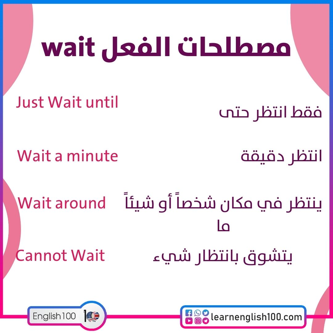 مصطلحات الفعل wait wait-idioms-phrasal-verbs