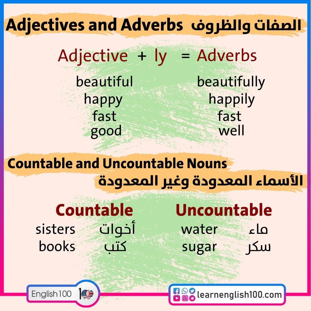 جرامر انجليزي English (Grammar)