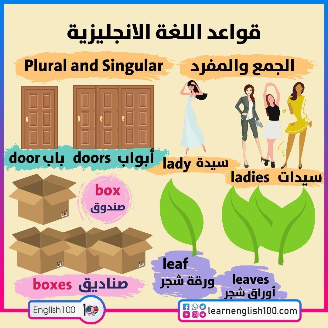 قواعد اللغة الانجليزية English Language Rules