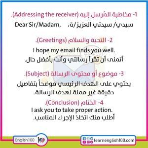 طريقة كتابة ايميل رسمي بالانجليزي How to Write a Formal English Email