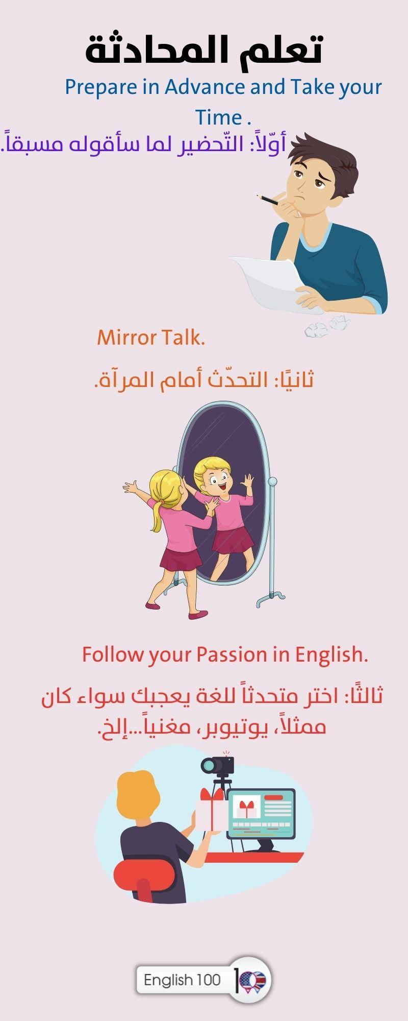 تعلم المحادثة الانجليزية Learn English (Conversation)