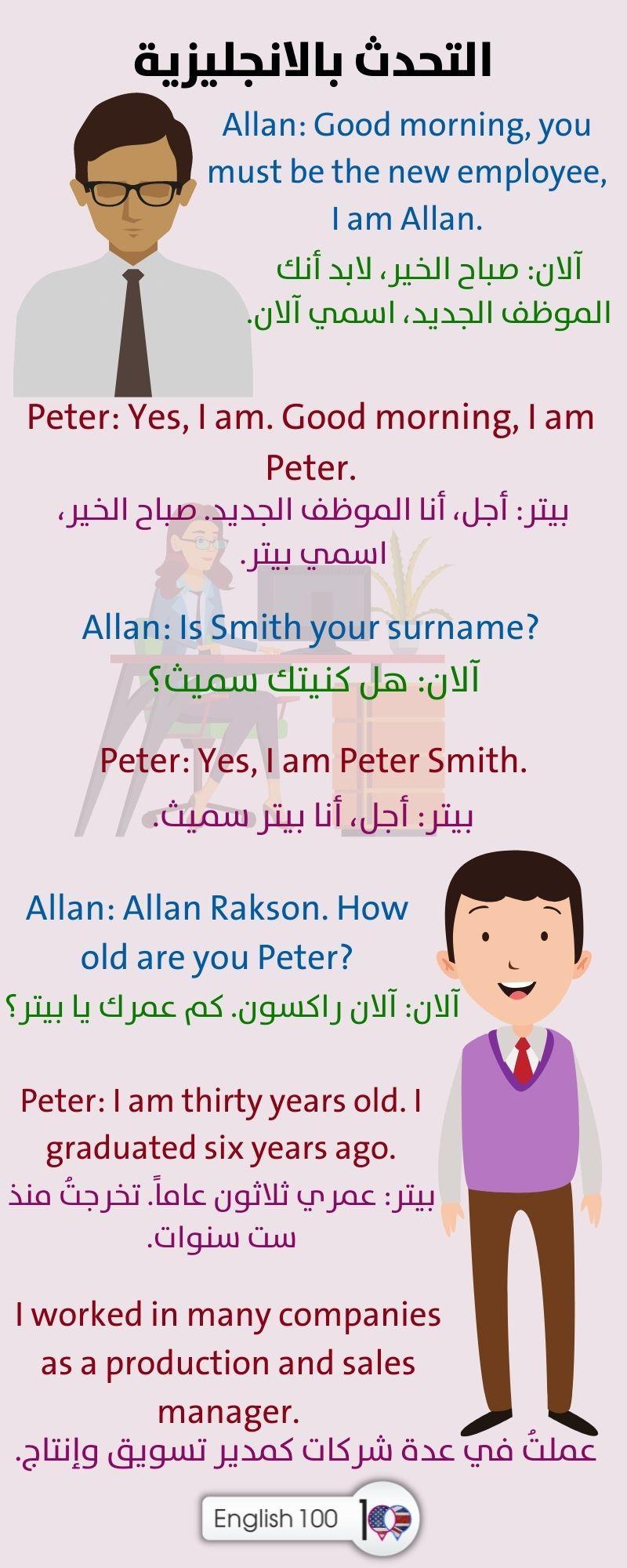 التحدث بالانجليزية Speaking English