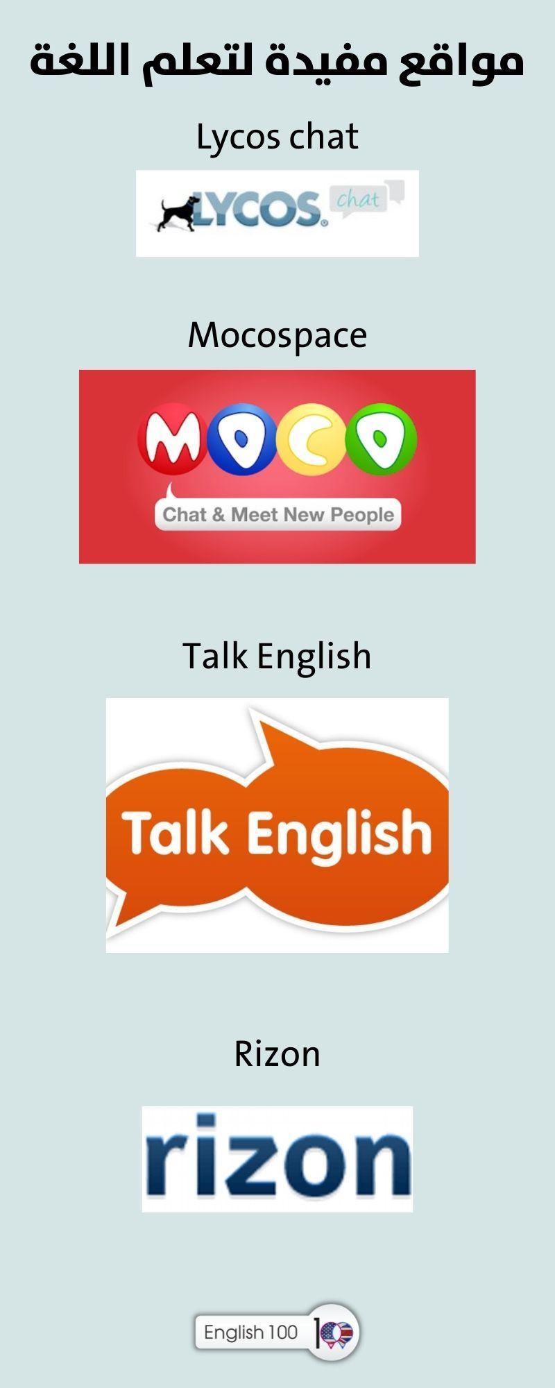 تعليم التحدث بالانجليزي Teach English Speaking