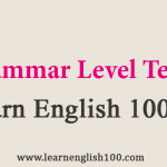 Grammar Level Test | Online English courses