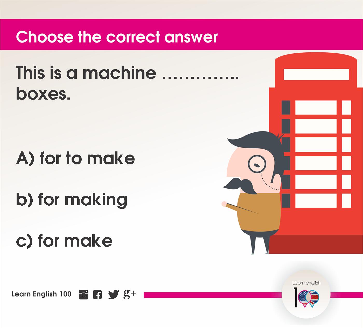 English question102
