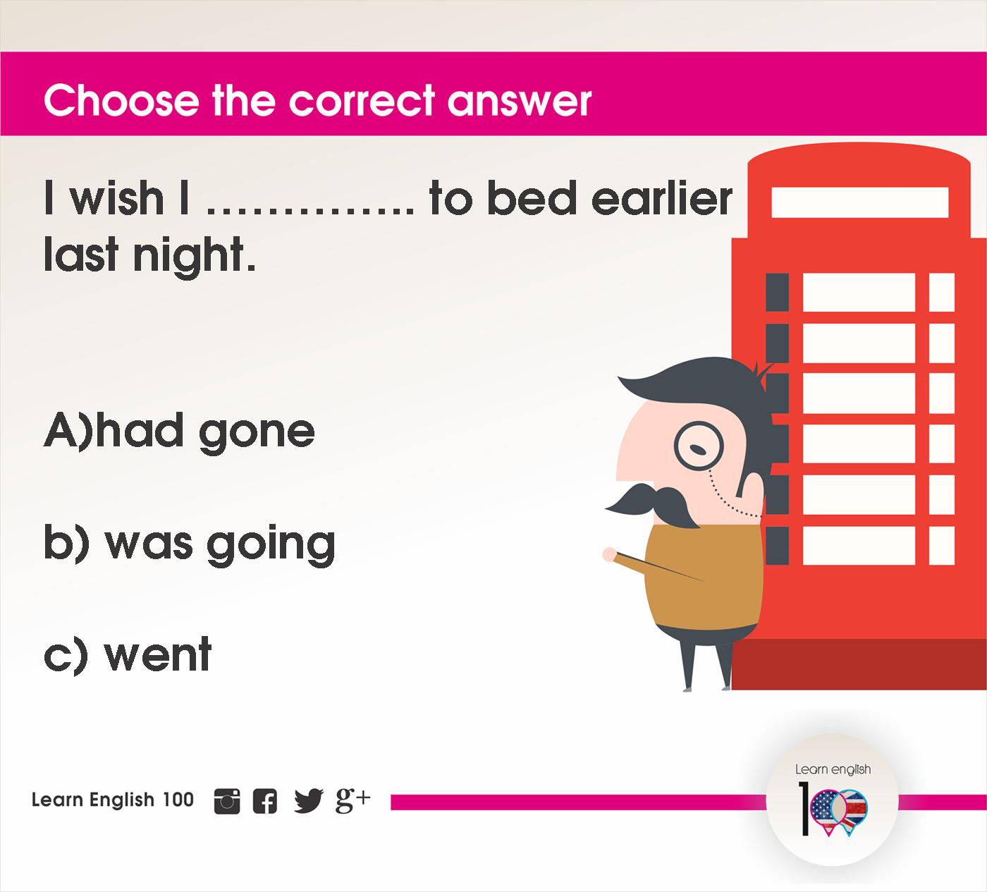 English question106