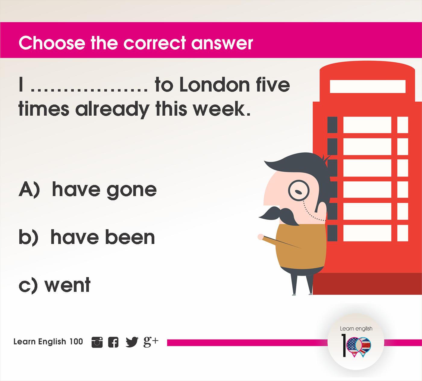 English question17