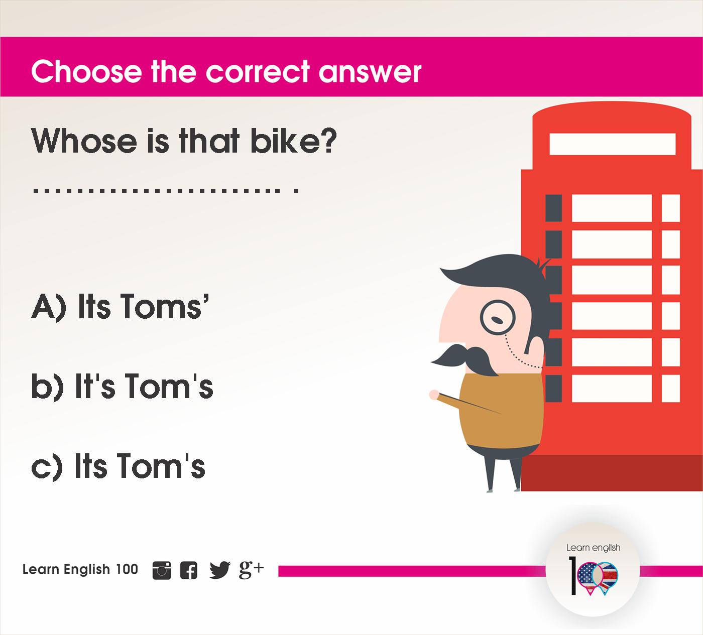English question36