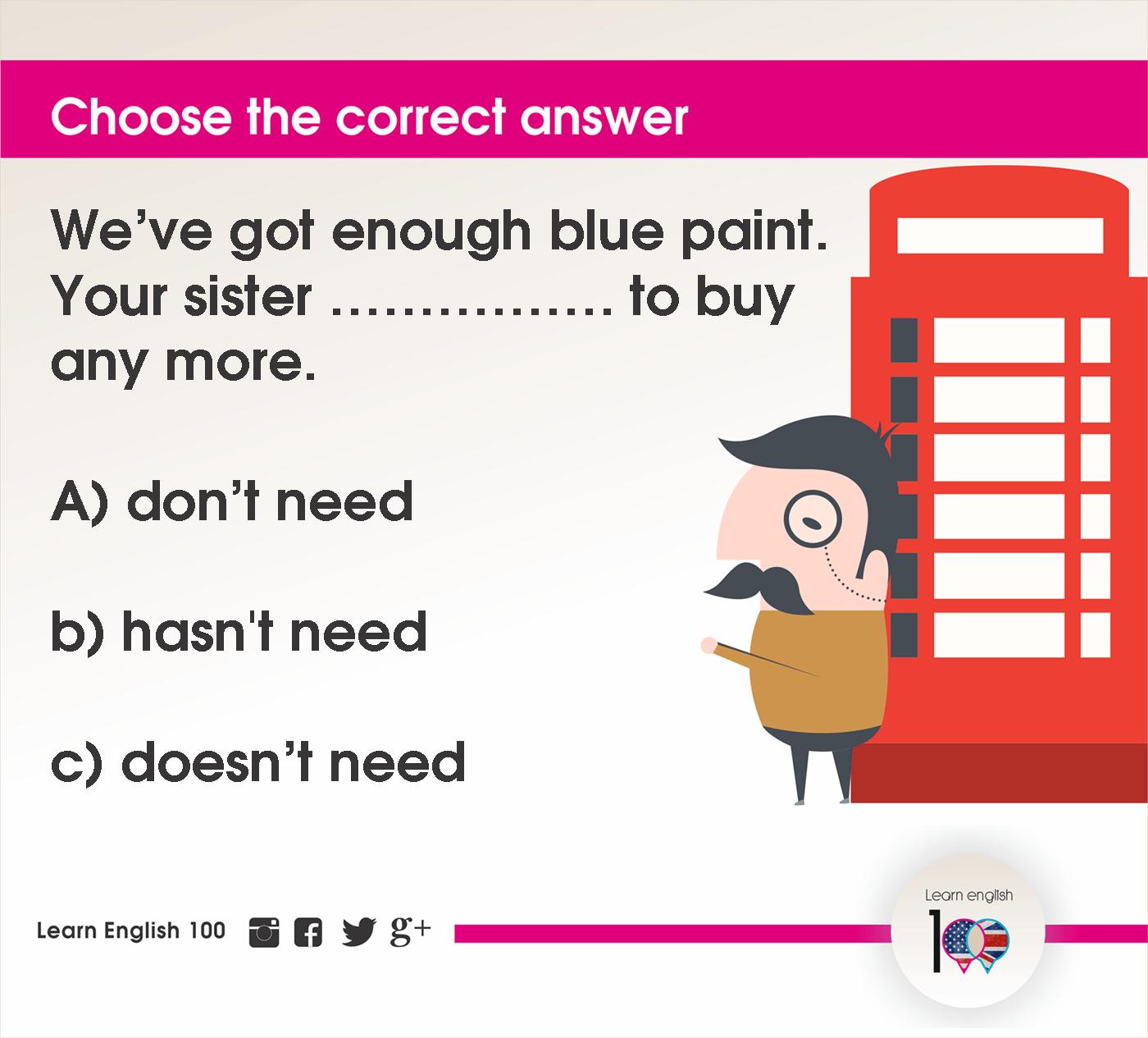 English question48