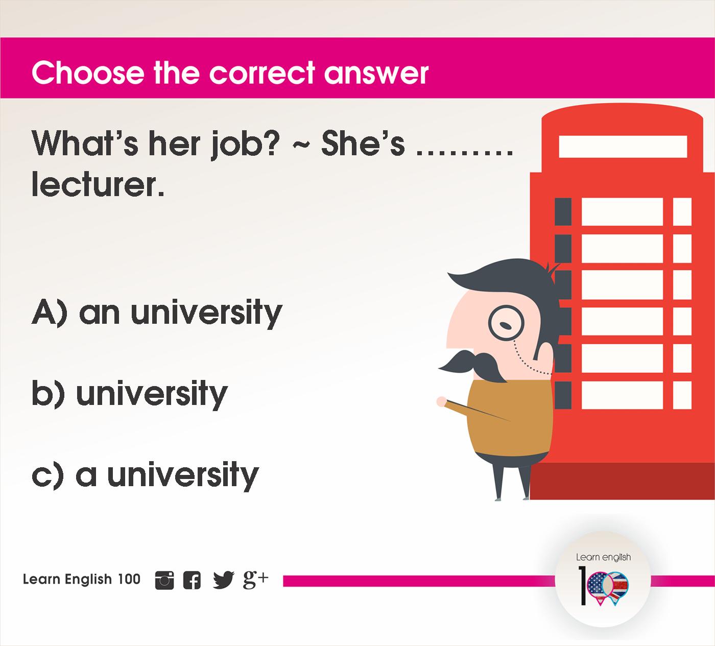 English question50