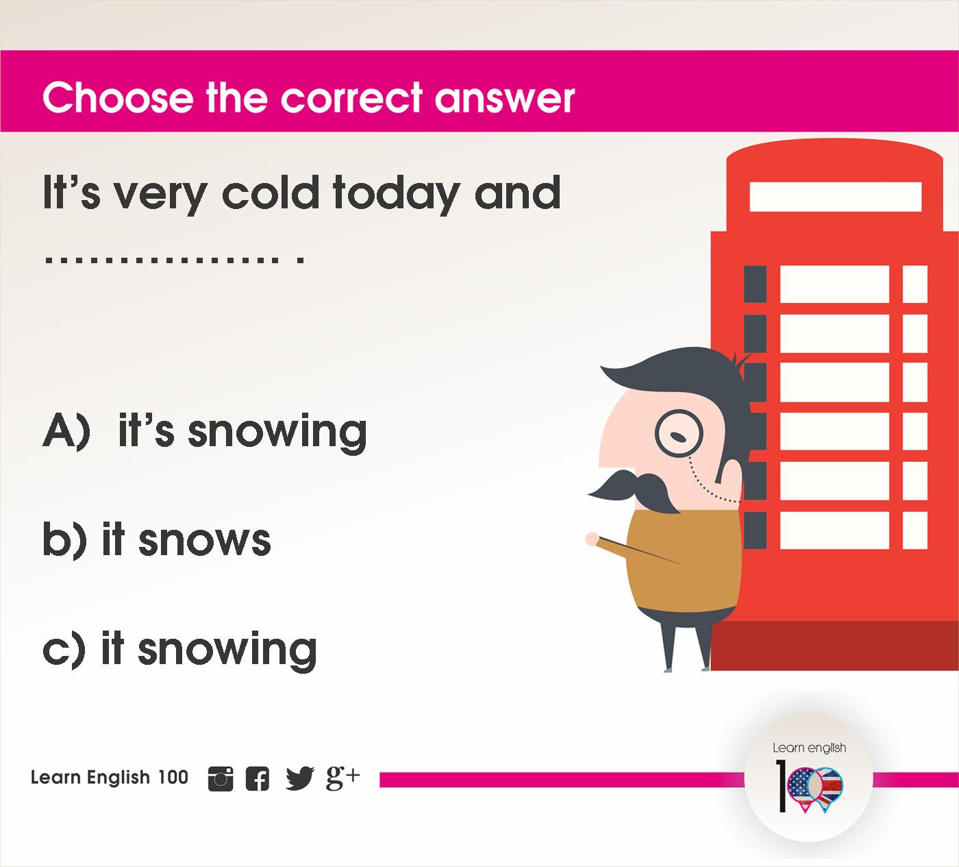 English question7