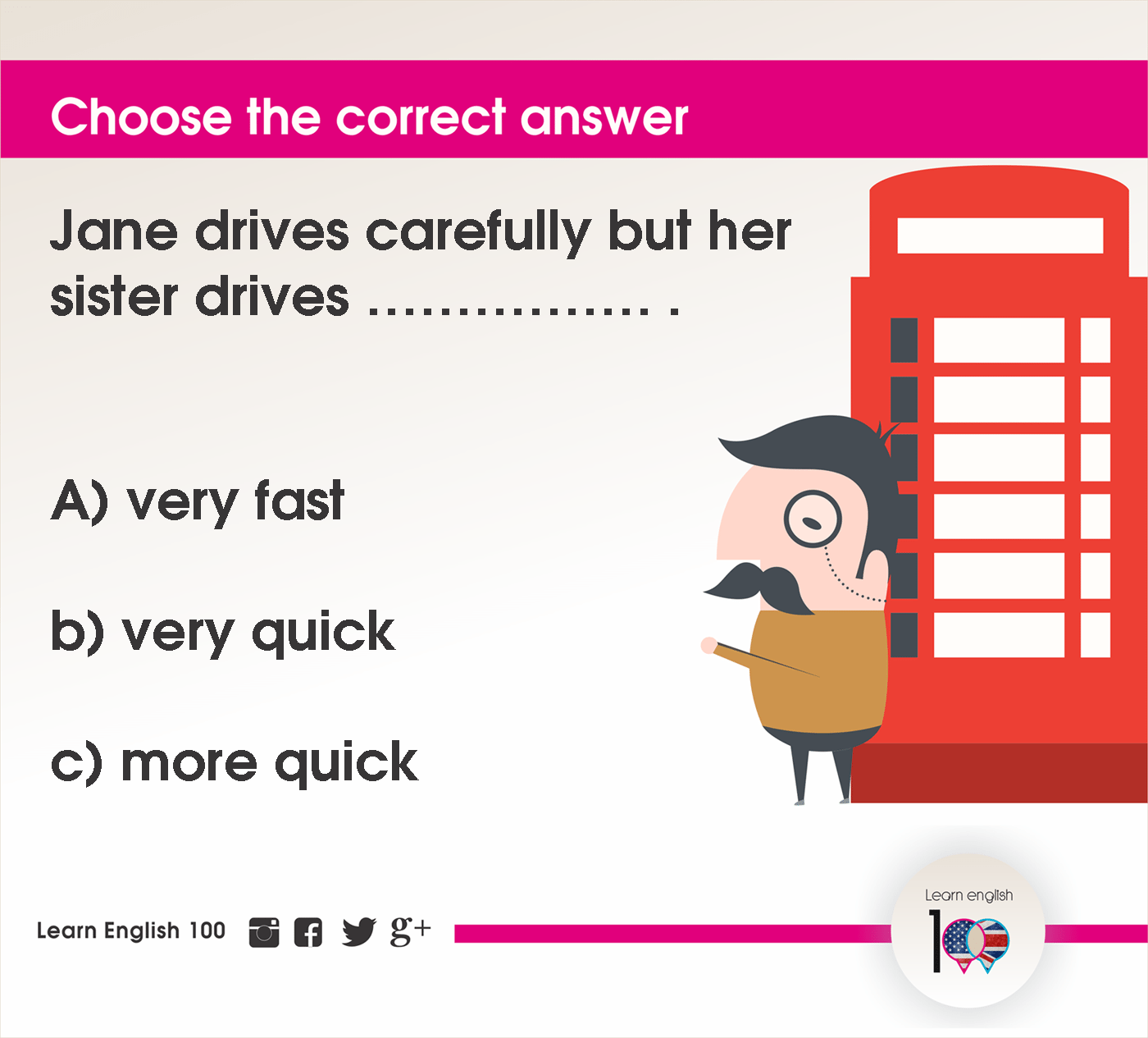 English question76