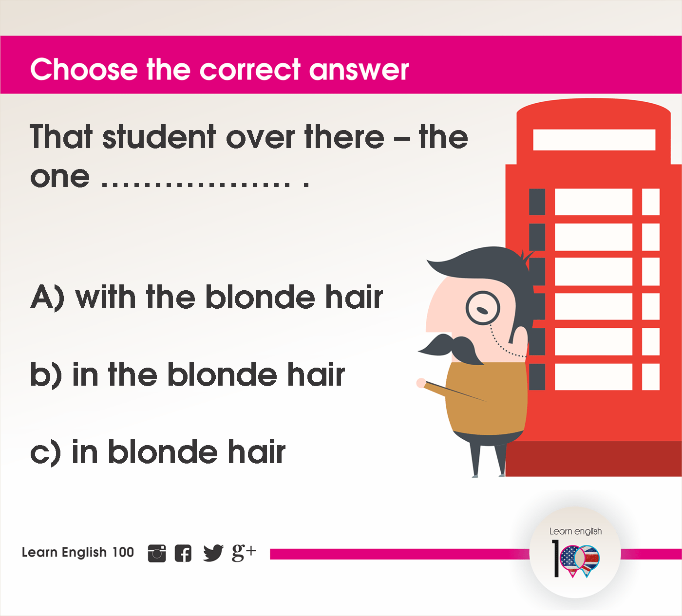 English question86