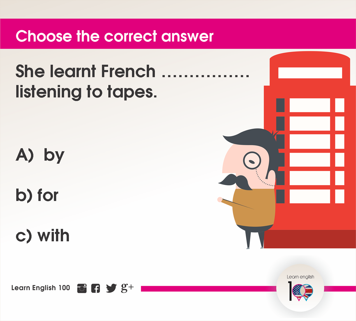 English question89