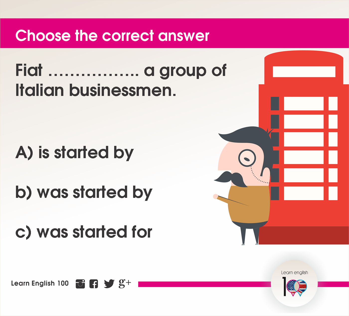 English question95